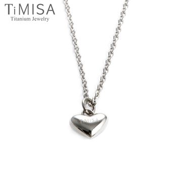 TiMISA《鈦真心》純鈦項鍊(F)