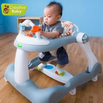 Creative Baby 創寶貝-經典版 多功能音樂折疊式三合一學步車/助步車(Bouncy step)