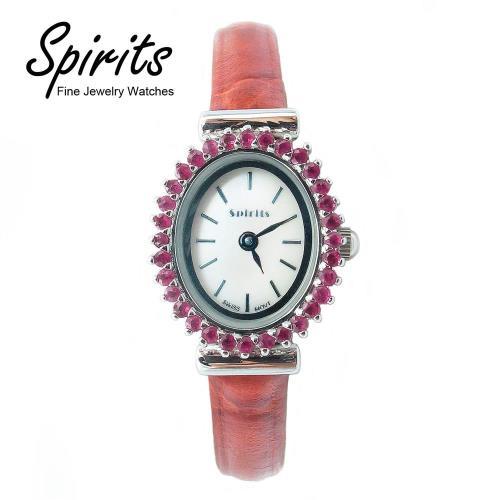 Spirits Fine Watches:熾愛火燄 寶石女錶