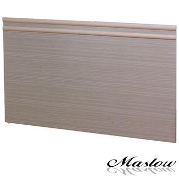 【Maslow-簡約白橡】加大床頭片-6尺(木心板)