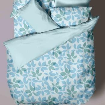 采葉-純棉四件式床包被套組(雙人)
