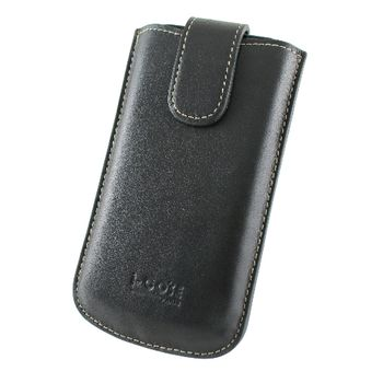 i-COSE 義大利Nappa 頭層皮 Motorola XT701手機皮套