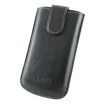 i-COSE 義大利Nappa 頭層皮 Nokia C5-00 手機皮套