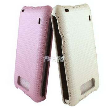 HTC Titan 泰坦機(X310E) 下掀式/掀蓋式皮套 鑽石紋限定款