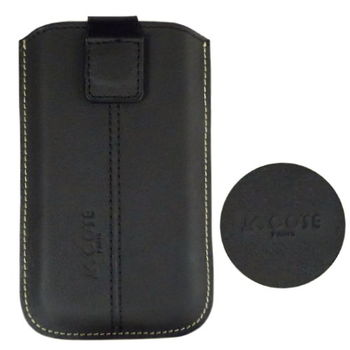 COSE Garmin-Asus M10E 真皮(小牛皮)抽拉式手機套磁吸式