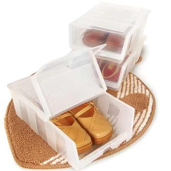 (收納達人)全家鞋盒收納6入組