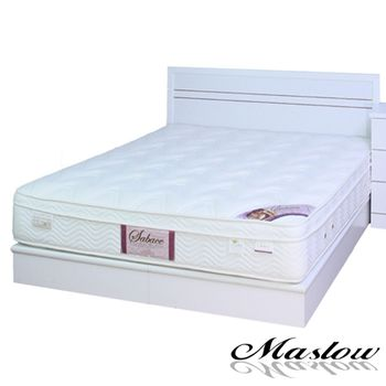 【Maslow-白色宮廷】單人床組-3.5尺(不含床墊)