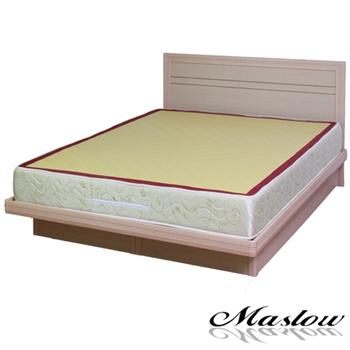 【Maslow-簡約生活白橡】加大掀床組-6尺(不含床墊)