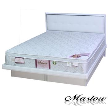 【Maslow-白色時尚】單人掀床組-3.5尺(不含床墊)