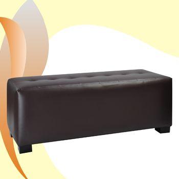 《DFhouse》加長穿鞋椅/床尾椅103cm-咖啡DF089-CH007C
