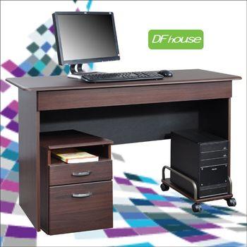 [DFhouse] 主機架+活動櫃+附抽屜書桌DE004+SH001+002