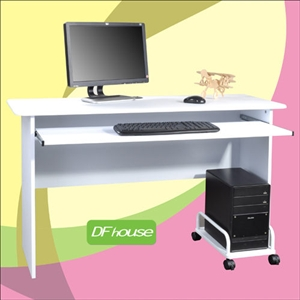 《DF house》主機架+附鍵盤架電腦桌DF072-DE005+SH001