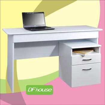 《DF house》檔案櫃+附抽屜書桌-DF072-DE004+SH002