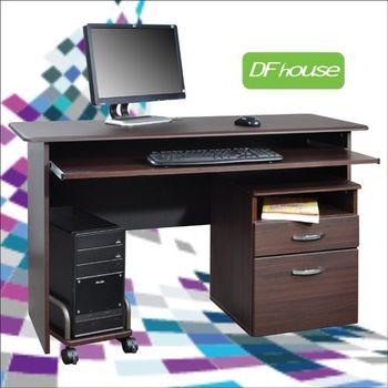 《DF house》主機架+檔案櫃+附件盤書桌DE005+SH001+002