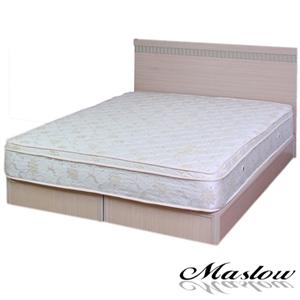 【Maslow-樂活白橡】單人床組-3.5尺(不含床墊)