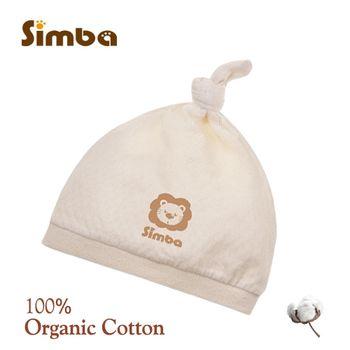 【小獅王辛巴】有機棉嬰兒打結帽*1件-任