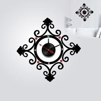 【日本Wall-Deco】創意壁貼時鐘 鎖住密祕