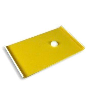單凸長方盤/雙色內黃(不含碗)