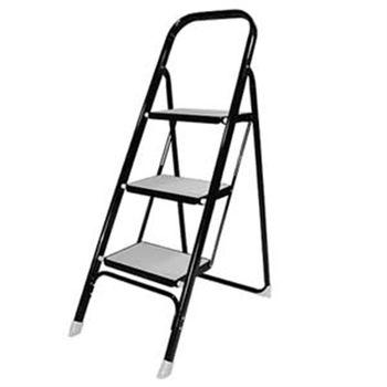 【收納達人】小鐵人便利可收折三階梯椅