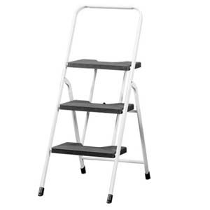 【收納達人】黑傑克便利可收折三階梯椅
