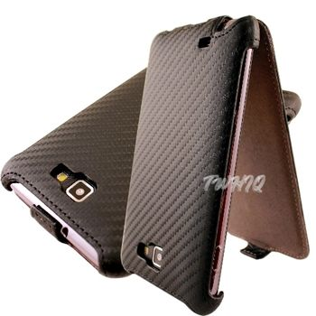 三星 Galaxy Note i9220/N7000 動感卡夢紋 下掀式皮套