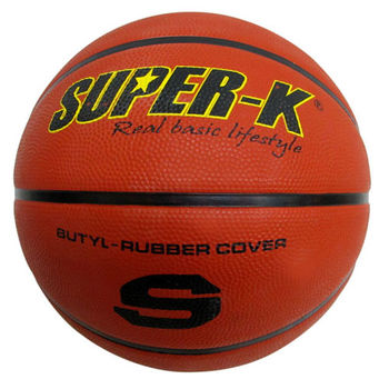 【SUPER-K】7號橡膠深溝籃球SBCF702