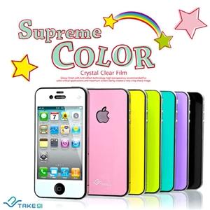 Take91 Supreme Color iPhone4/4S晶彩保護貼