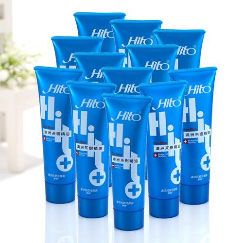 Hito伊的 清涼抗痘洗面乳(12+1瓶)加價組