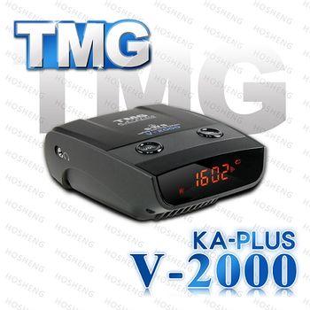 TMG V-2000 KA-PLUS GPS衛星定位測速器