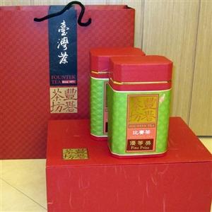 【豐碁茶坊】南投鹿谷鄉農會比賽-優等獎茶300g*2罐