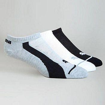 Puma 彪馬吸濕排汗低切混搭3入運動襪