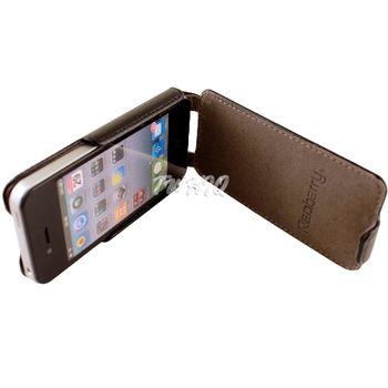 Apple iPhone 4 下掀式/掀蓋式 手機皮套荔枝紋限定款