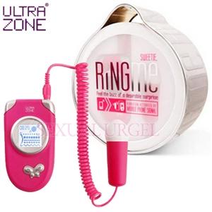 美國Ultrazone-情慾熱線變頻跳蛋-桃
