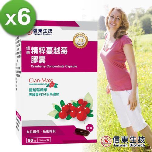 信東CranMax專利蔓越莓6盒