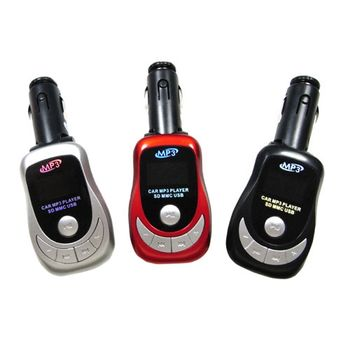E2跑車款車用MP3轉播器(加贈多功能遙控器)