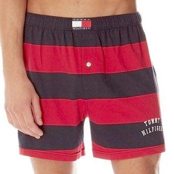 Tommy Hilfige 2012男橄欖球條紋針織平口內褲