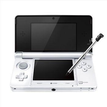 3DS冰晶白主機 瑪利歐3D樂園組