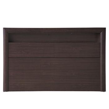 【MiCasa-羅拉燈箱型】雙人5尺床頭箱(2色可選)