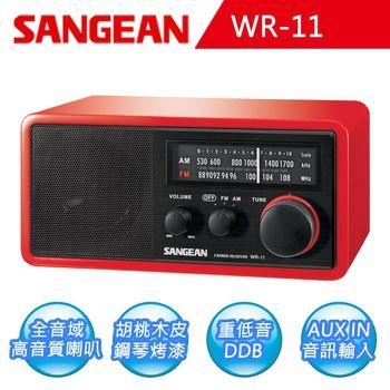 【山進SANGEAN】二波段復古式收音機 (WR-11)網
