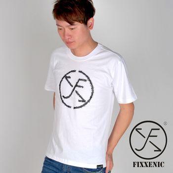 【FIXXENIC】台灣製造時尚大潮短T(白色)