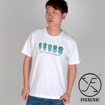 【FIXXENIC】台灣製造趣味變臉短T(白色)