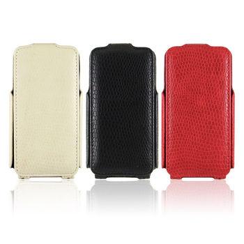 APPLE iPhone 4 / 4S 專用 蛇紋 下掀式手機皮套