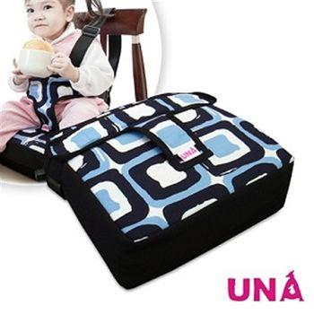 【Una】兒童餐椅墊〈藍〉