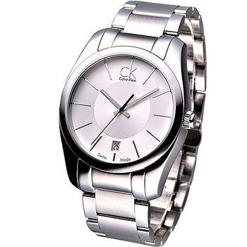 Calvin Klein 紳士極簡風鋼帶腕錶