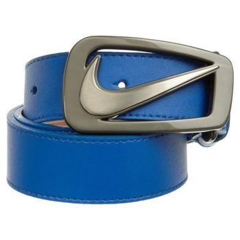 Nike 2012旋風nappa藍色皮帶