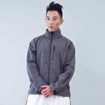 TECL-WOOD多功能防風防水透氣保暖外套(灰)