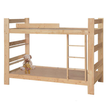 MiCasa松木風情單人3尺雙層床