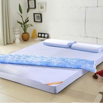 LooCa舒適釋壓8cm記憶床墊-雙人