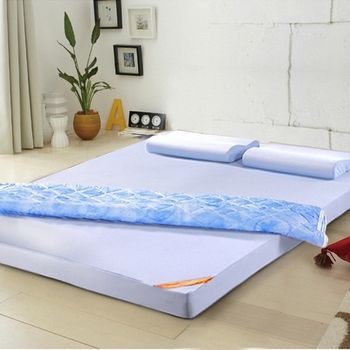 LooCa舒適釋壓8cm記憶床墊-單人