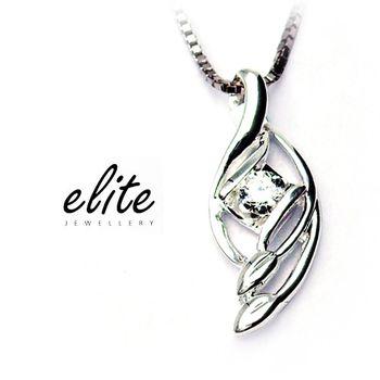 《伊麗珠寶》925純銀項鍊 - 纏綿悱惻